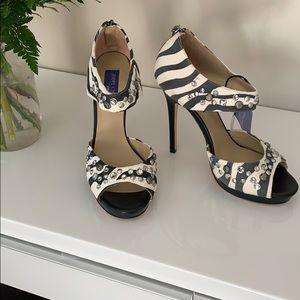 NWT Jimmy Choo for H&M Zebra print high heels